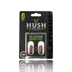 Hush Kratom Platinum Full Spectrum kratom extract