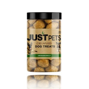 Just CBD pets CBD infused Dog Treats