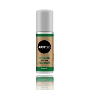 JustCBD CBD freeze roll-on pain relief