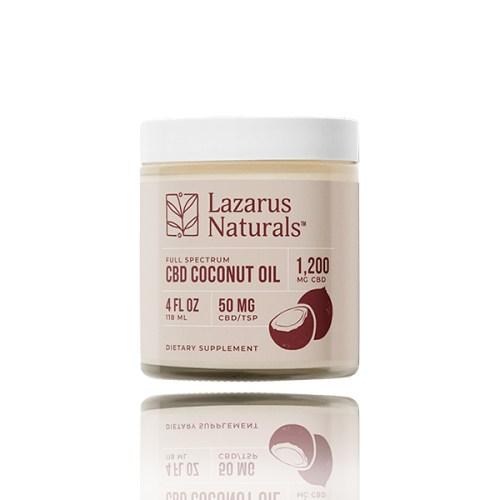Lazarus Naturals Full Spectrum CBD Coconut Oil