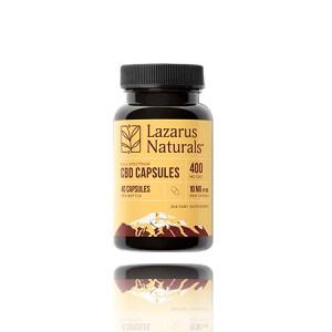 Lazarus naturals Full Spectrum CBD Capsules
