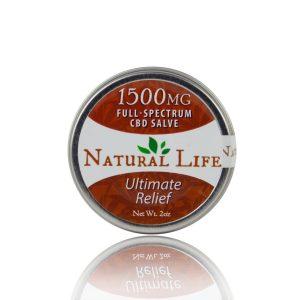 Natural Life 1500 mg CBD Salve