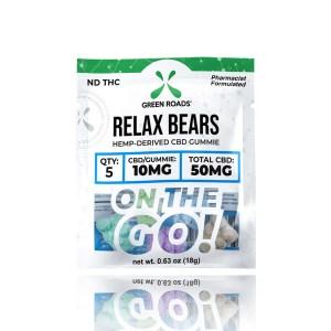 Green Roads Relax Bears CBD Gummies On the Go
