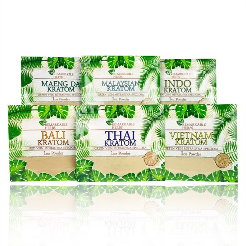 Remarkable Herbs Kratom Pouches