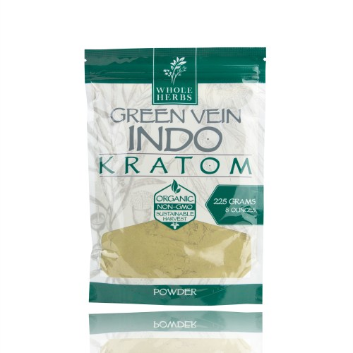 Whole Herbs Kratom Powder Green Vein Indo_