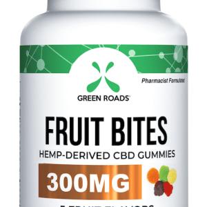 CBD Fruit Bites 300 mg by Green Roads