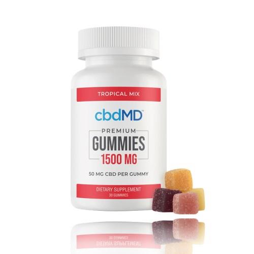 cbdMD CBD Gummies Tropical Mix