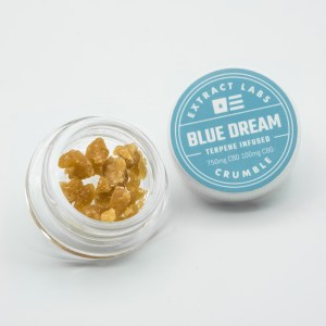 Crumble - Blue Dream 750mg CBD 100mg CBG
