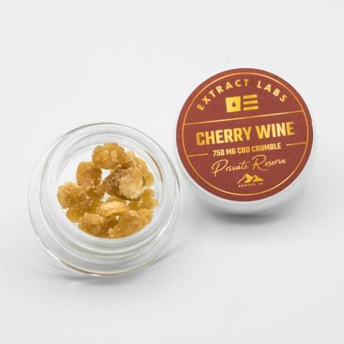 Crumble - Cherry Wine 800mg CBD Private Reserve