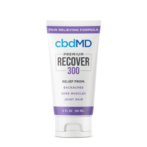 cbdMD topical inflammation 300mg squeeze