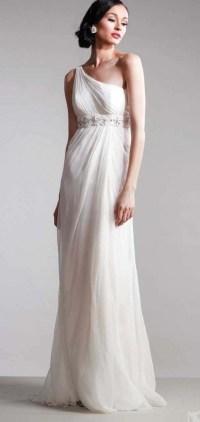 White And Gold Goddess Prom Dress | www.pixshark.com ...