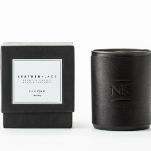 Leather and Lace Scented Candle