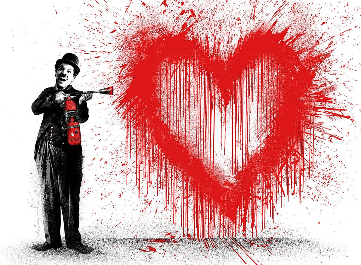Mr. Brainwash�� Spray Love