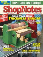 Shopnotes Magazine Index