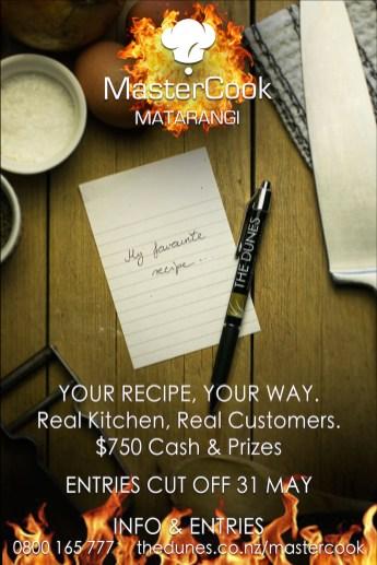 mastercook promo ready poster