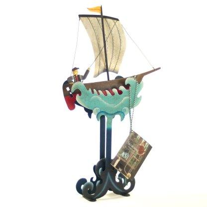 Sailing Seven Seas Balance Sculpture