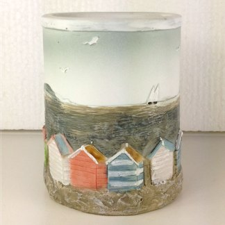 British Beach Huts Pen Pot