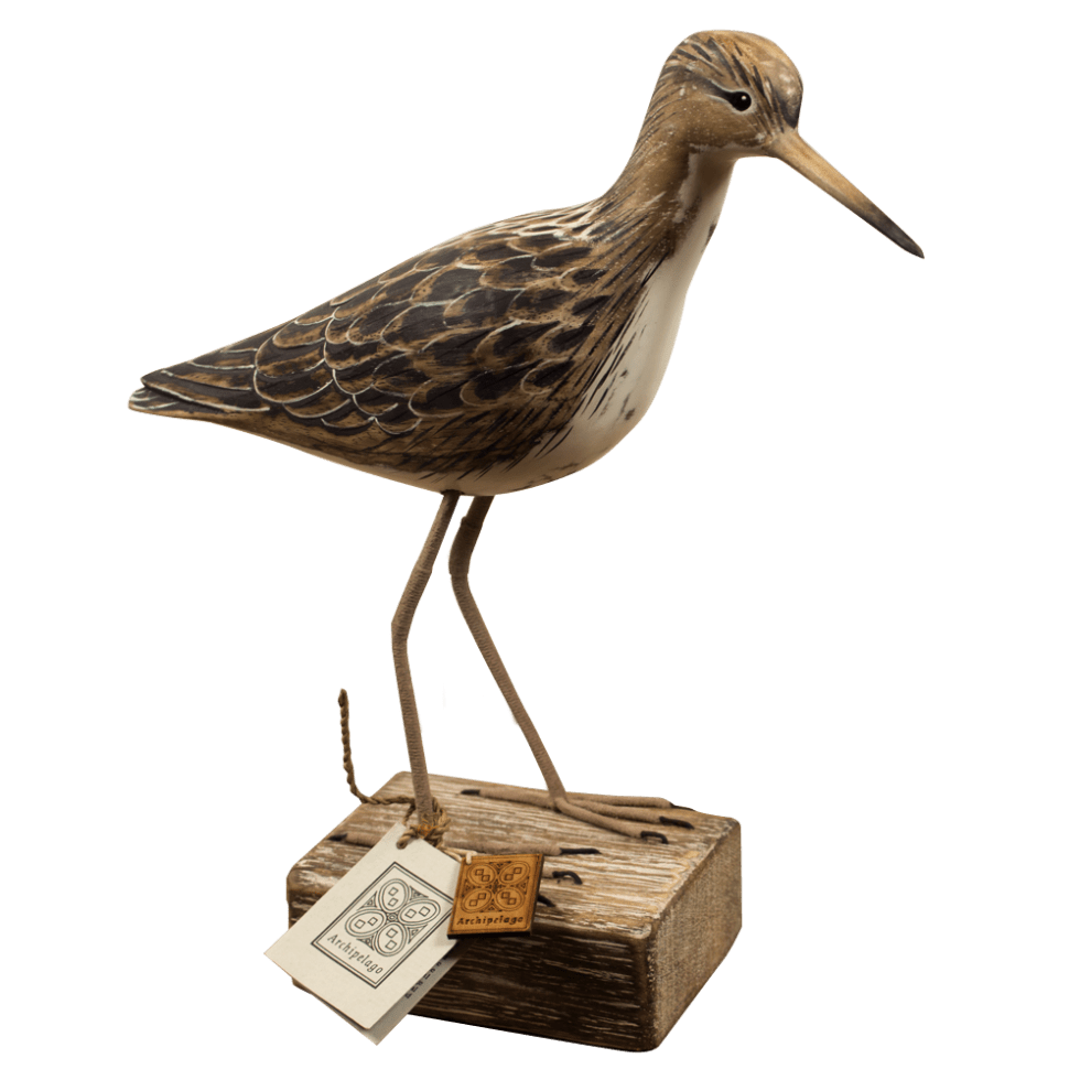 Ruff Archipelago Bird Sculpture