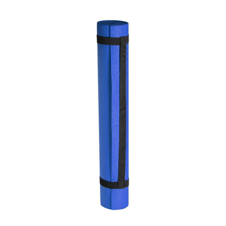 Yogamat/sportmat blauw 180 x 60 cm   Goedkoop speelgoed bij De Speelgoedwinkel