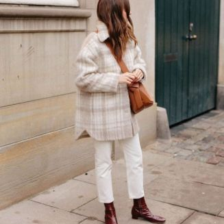 Overshirt trend street style outfit