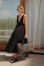 Zwarte jurkjes outfit ideas