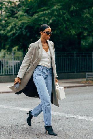 Straight Leg Jean Street Style