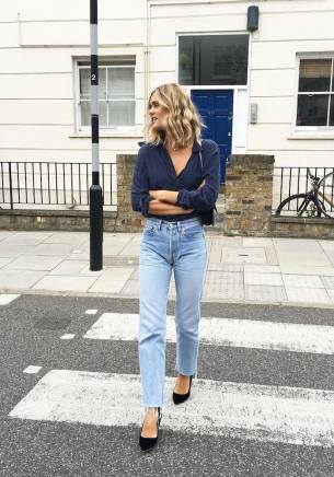 Light Washed Denim Street Style