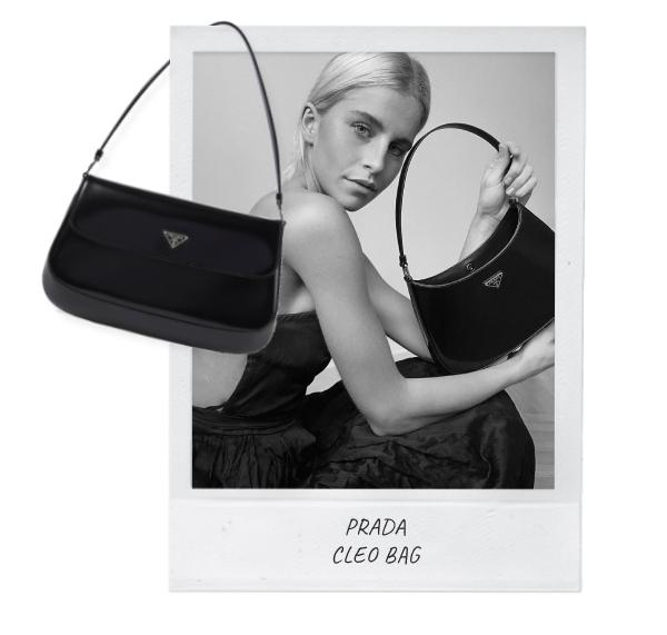 Designertassen Prada Cleo bag