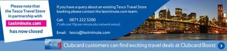 Tesco Travel Store
