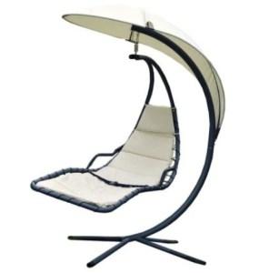 Bentley Garden Helicopter Swing Chair - Cream