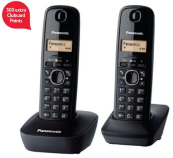 300 clubcard points panasonic telephone