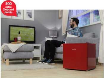 red russel hobbs mini fridge 500 extra tesco clubcard points