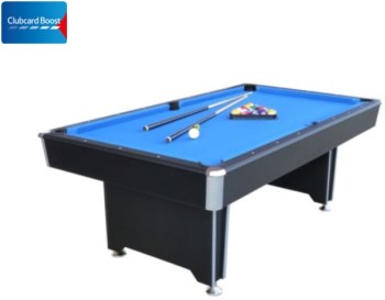 7ft Callisto Pool Table clubcard boost