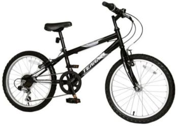 Terrain Hallam 20 Kids' Mountain Bike, Black