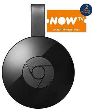 NOW TV google chromecast 250 extra clubcard points