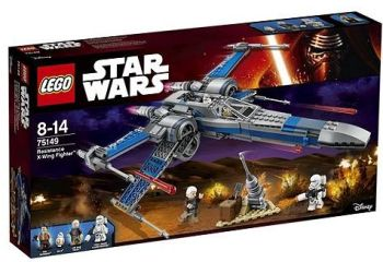 lego star wars resistence x-wing fighter tesco clubcard points
