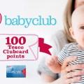 Register for Tesco's Baby Club and get 100 Clubcard points!