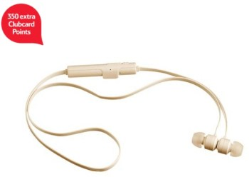 KitSound Ribbons Bluetooth Earphones With Microphone - Gold