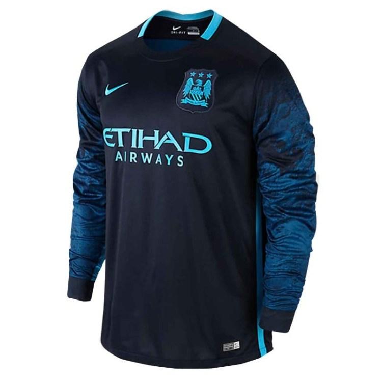 Manchester City Away Full Sleeve Jersey 2015-16 : ShoppersBD