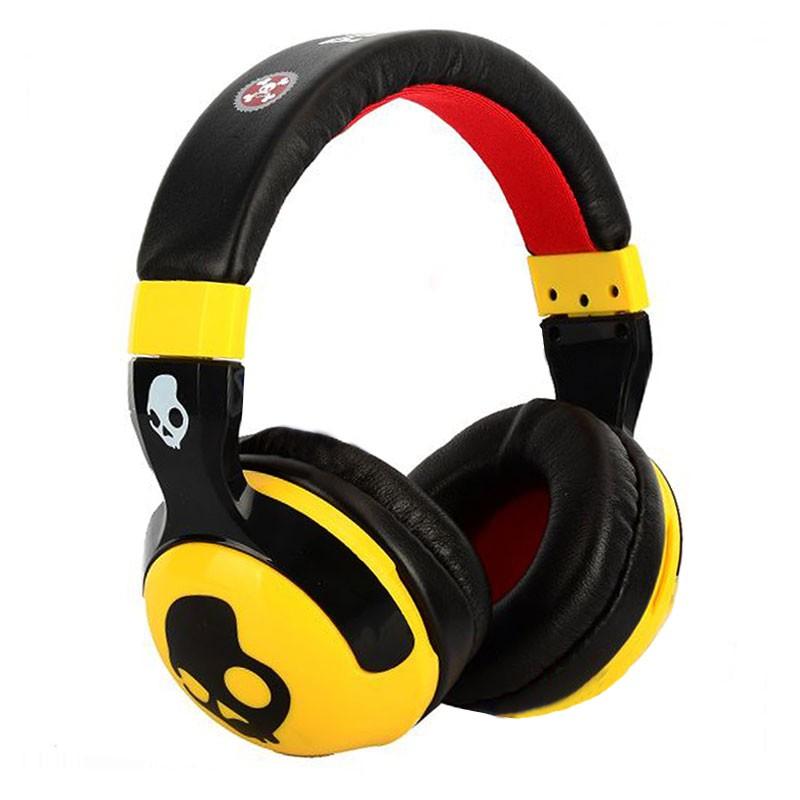 Skull Candy Hash Paul Frank Series Replica Headphones  Yellow