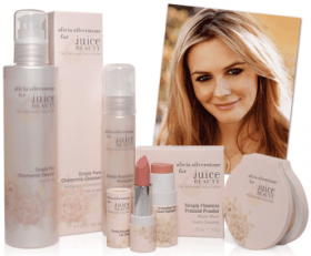 Alicia Silverstone Juice Beauty Collection