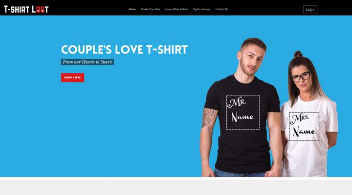 best t-shirt online printing in northeast