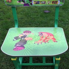 Stool Chair Price In Pakistan Camo Rocking Buy Kids Study Table And Ben 10 At Best