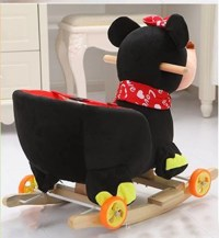 Buy Rocking Plush Chair Minnie Mouse 2-4 Year Kids at Best ...