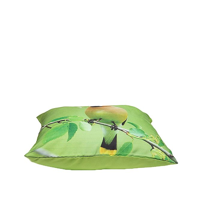 Buy Green Satin Printed Cushion VDS 018 At Best Price In