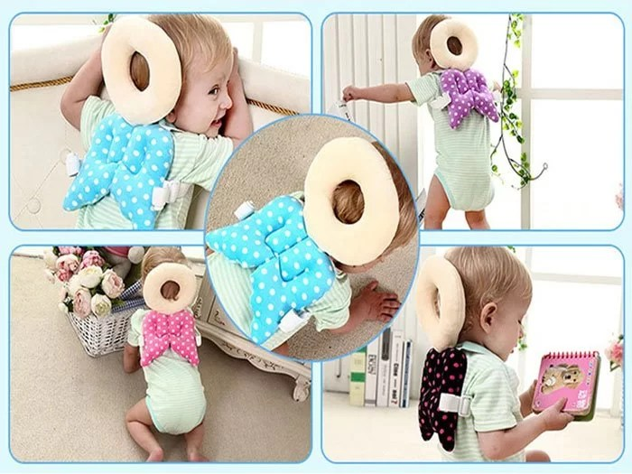 toddler headrest pillow baby head protection cushion