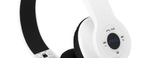 Bluetooth Headphones with padded cushions – $3.50