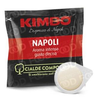 Cialde compostabili Kimbo Caffè miscela Napoli Espresso