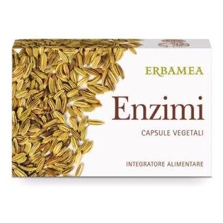Enzimi capsule vegetali buona digestione Erbamea