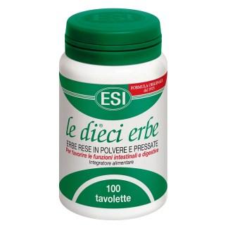 Le Dieci Erbe regolarità intestinale ESI
